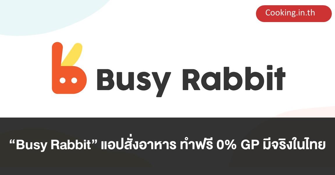 Busy Rabbit