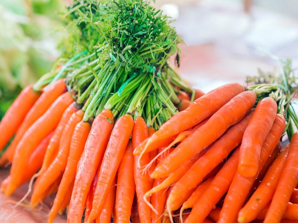 ราคา แครอท ในตลาด