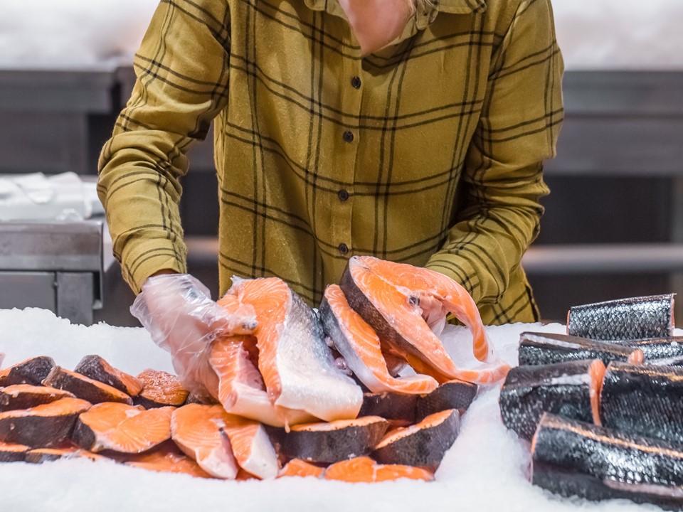 ปลาแซลมอน ที่นิยมขายตามร้านอาหาร