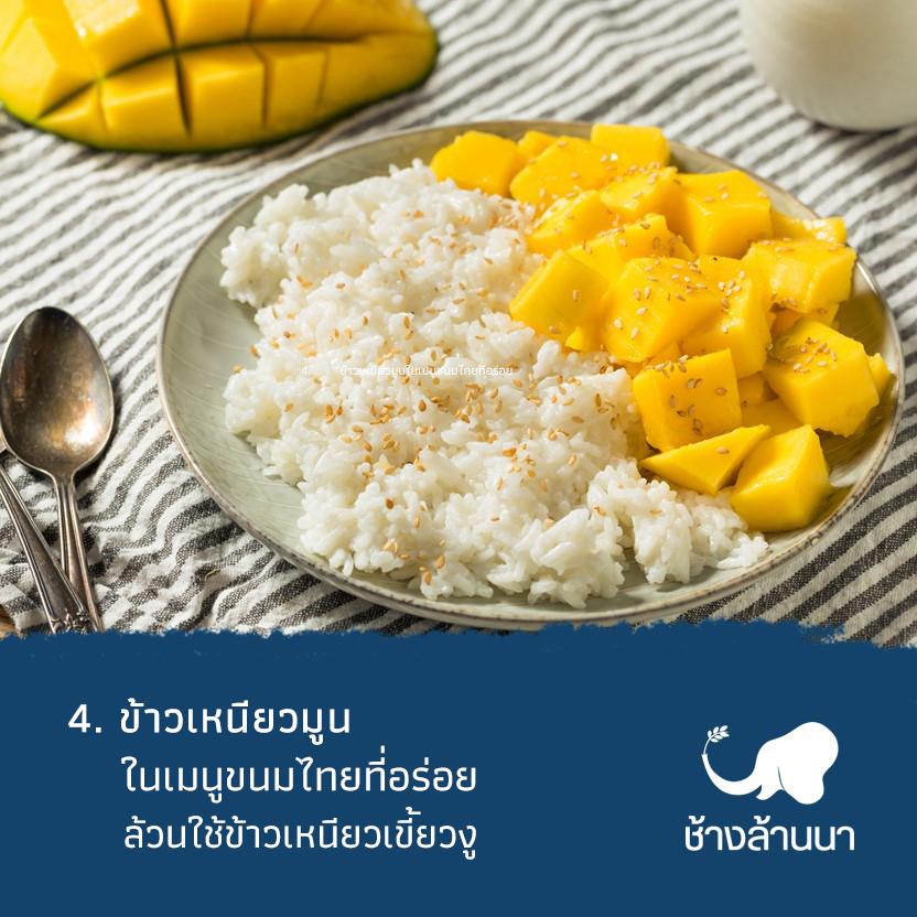 ข้าวเหนียวเขี้ยวงู คือที่สุดของข้าวเหนียวที่ใช้ทำขนมไทย